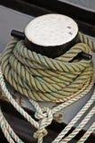Cordas da amarração Imagem de Stock