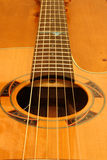Cordas da guitarra Imagens de Stock