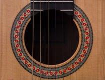 Cordas da guitarra Arte Imagem de Stock Royalty Free