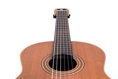 Cordas da guitarra, fim acima Imagens de Stock Royalty Free