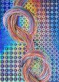 Cordas de brilho Fotos de Stock