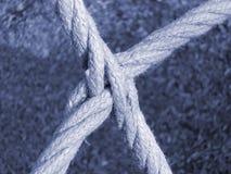 Cordas de cruzamento Fotos de Stock Royalty Free