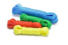 Cordas de nylon coloridas Foto de Stock
