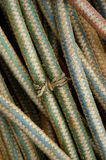 Cordas de um pescador Imagens de Stock