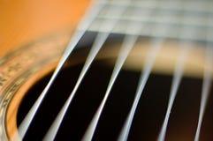 Cordas de vibração Fotografia de Stock Royalty Free