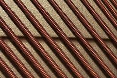 Cordas do piano Fotografia de Stock Royalty Free