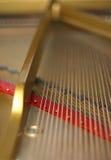 Cordas do piano Fotos de Stock