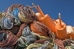 Cordas e bóias Fotografia de Stock