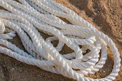 Cordas marinhas grandes do mar no montão Fotografia de Stock Royalty Free