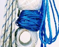 cordas penduradas para a venda Imagem de Stock Royalty Free