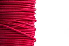 Corde élastique pourpre Photographie stock