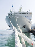 Corde ancoranti Fotografia Stock Libera da Diritti