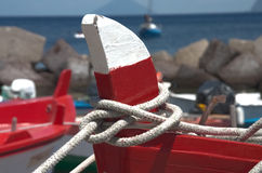Corde attachée Image stock