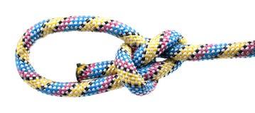 Corde avec le noeud Image libre de droits