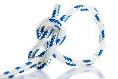 Corde avec un noeud de palstek Photo libre de droits