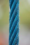Corde bleu-clair Images libres de droits