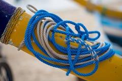 Corde blu e bianche fotografia stock