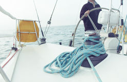 Corde c de yacht Photo stock