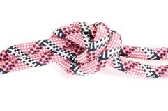 Corde d'alpiniste avec le noeud Photos libres de droits