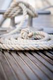 Corde d'amarrage Photo stock