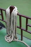 Corde d'amarrage Image libre de droits