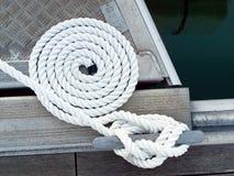 Corde de bateau Images stock