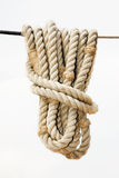 Corde de bateau Photos libres de droits