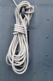 Corde de bateau Images libres de droits
