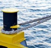 Corde de bateau Photo libre de droits