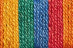 Corde de couleur images stock