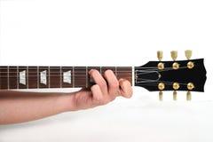Corde de guitare Photos libres de droits