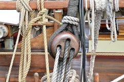 Corde de schooner Photos libres de droits