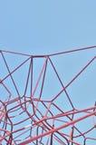 Corde del castello, campo giochi dei bambini Fotografie Stock Libere da Diritti