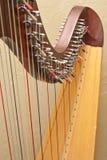 Corde dell'arpa Fotografia Stock
