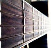 Corde della chitarra Fotografia Stock Libera da Diritti