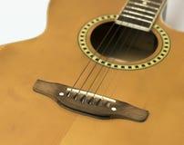 Corde della chitarra Immagine Stock