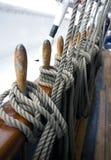 Corde della nave fotografie stock