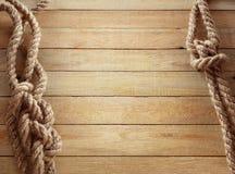Corde della nave Fotografia Stock