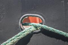 Corde della nave immagini stock libere da diritti