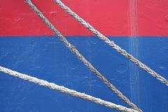 Corde di barca Fotografie Stock
