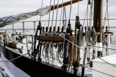 Corde di barca a vela Immagine Stock Libera da Diritti