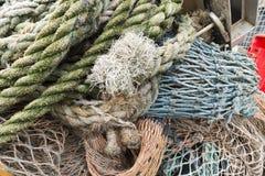 Corde di pesca Fotografia Stock Libera da Diritti