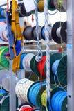 Corde e cavi per la navigazione da diporto Fotografie Stock Libere da Diritti