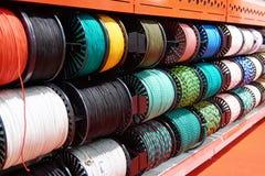 Corde en nylon pour s'élever et travail dans le magasin photos stock