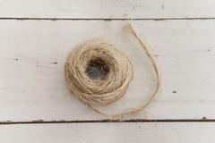 Corde enroulée Image libre de droits