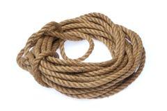 Corde forte naturelle Photo libre de droits