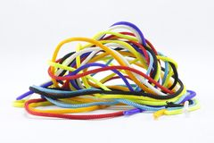 Corde multicolore Photos libres de droits