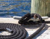 Corde nautique Photos stock