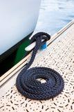 Corde nautique d'amarrage Images libres de droits
