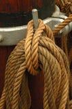 Corde nouée Photo stock